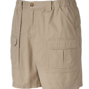Croft & Barrow Side Elastic Cargo Shorts